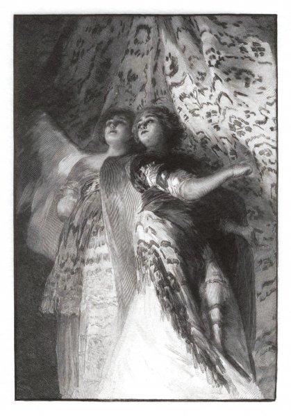 Angels, by Goya