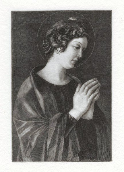 St. Catherine, by Giovanni Bellini