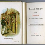 Frontispiece of Through the Year with Dickens