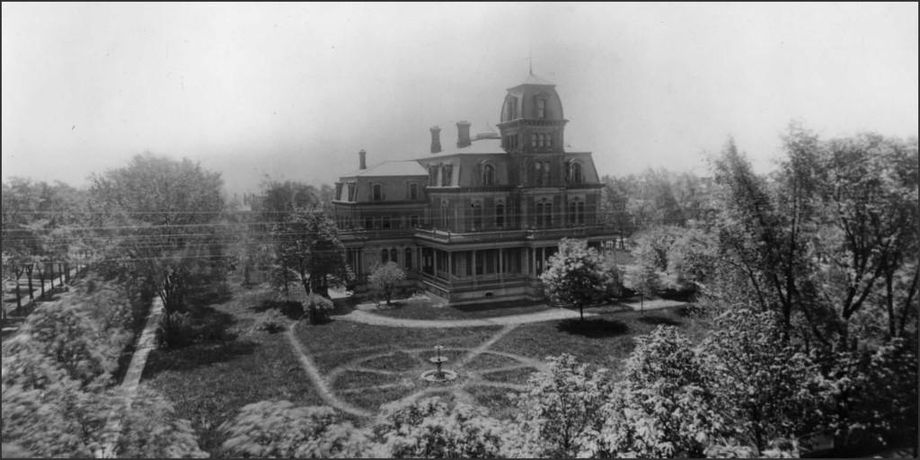 William G. Fargo mansion, 1872