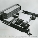 1964 proposed Faculty Residence and Student Meditation Chapel