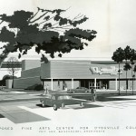 1964 proposed Fine Arts Center