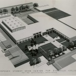 1964 proposed Student Union and Athletic Center
