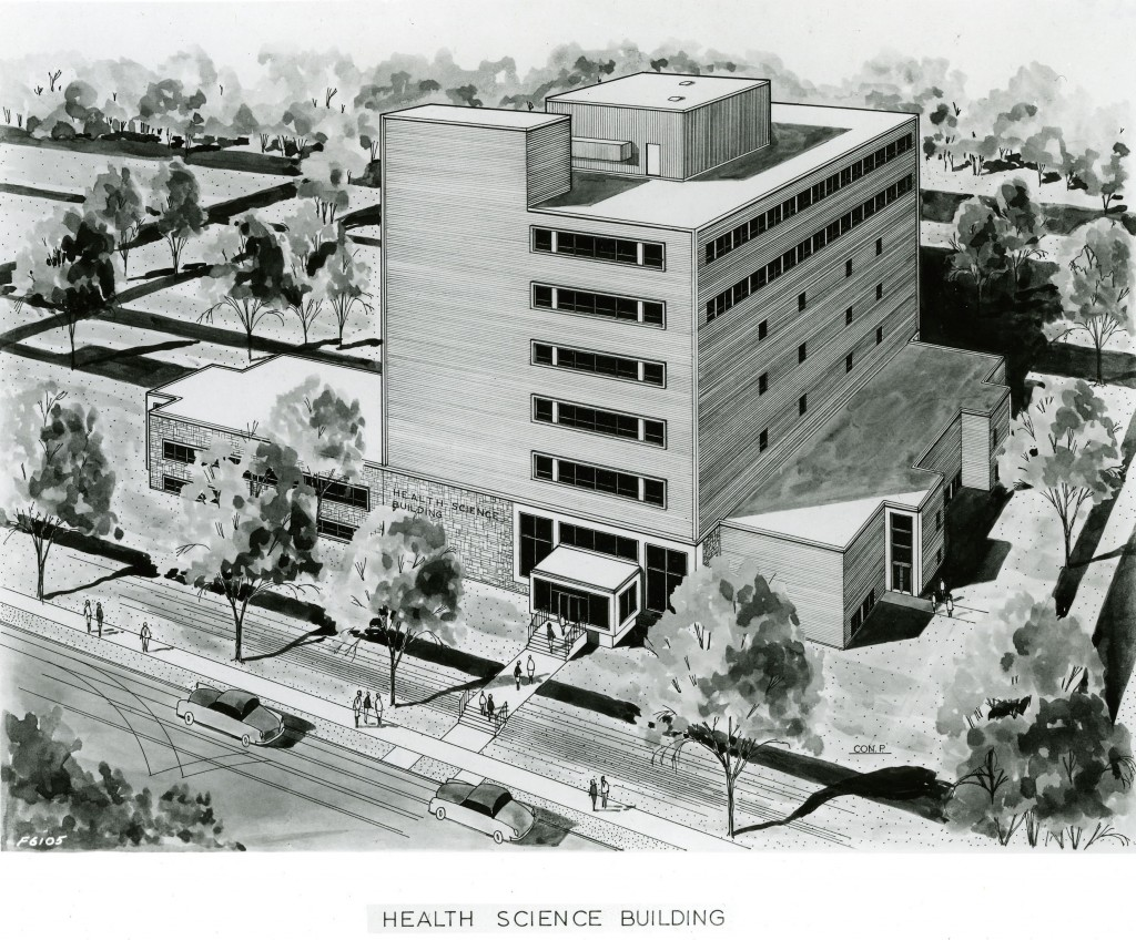 Health Science (ALT) Building opened September 1967