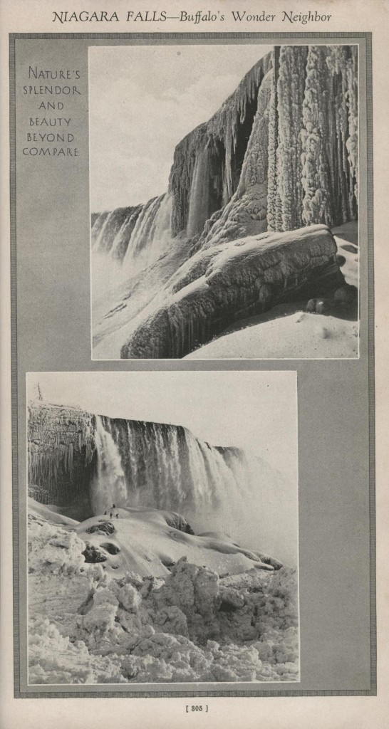 The Falls in winter.