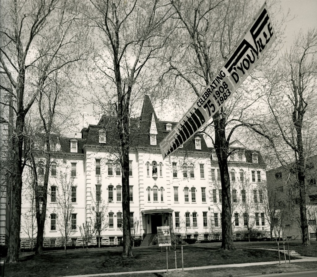 Administration building, 1983