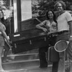 Students moving in to Madonna, circa 1978.