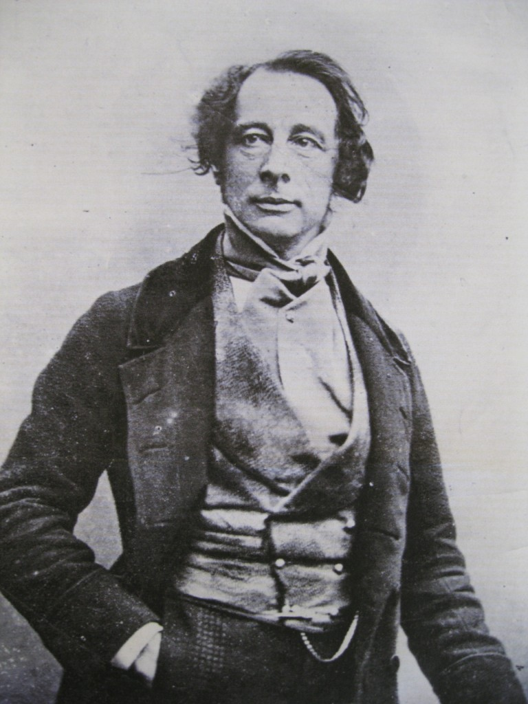 Dickens at the time of Copperfield publication, 1850.