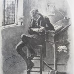 Uriah Heep, from Frederick Barnard's Character Sketches from Dickens.