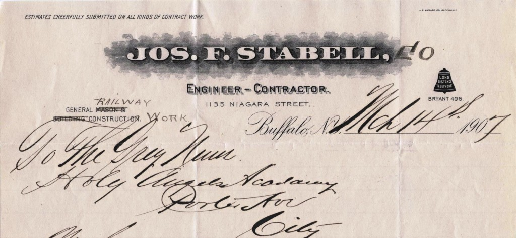 Joseph F. Stabell, Engineer - Contractor, Buffalo (NY)