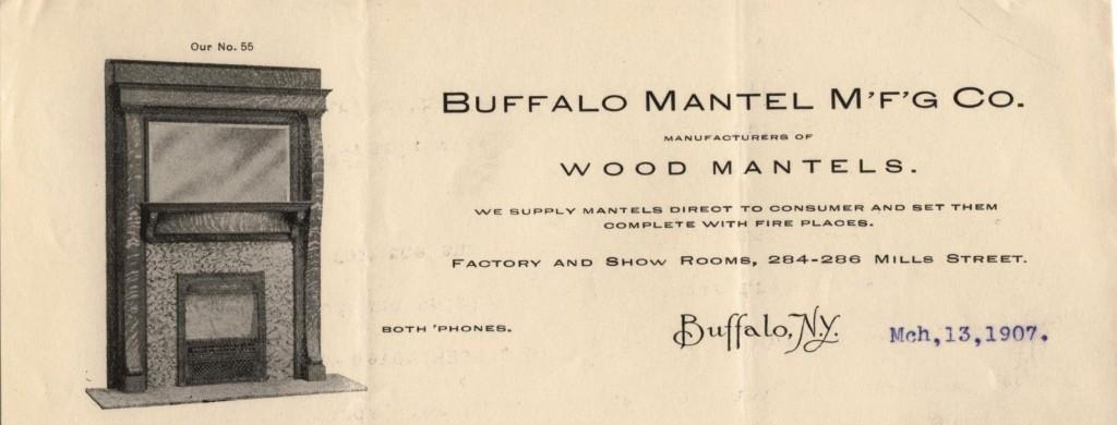 Buffalo Mantel Manufacturing Company, Buffalo (NY)