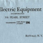 Stearns Electric Equipment Company, Buffalo (NY)