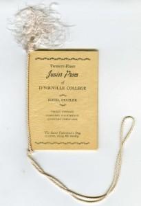 DYC Junior Prom 1941