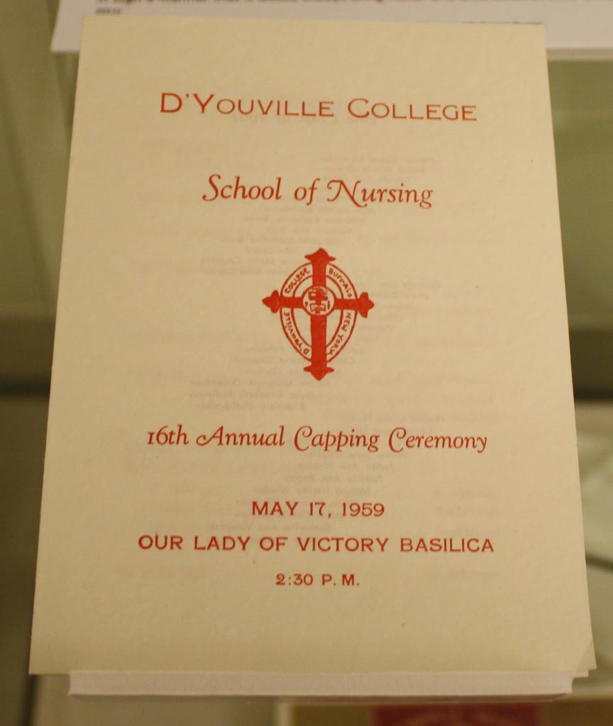 Capping Ceremony program
